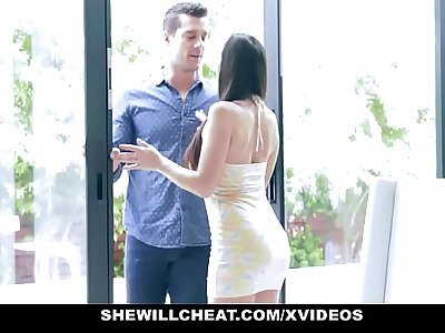 SheWillCheat - Hot Wed Devours Trainers Weasel words